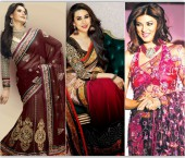Exquisite Saree Fabrics for Spring Summer 2014