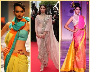 Coolest Trends of Draping Saree