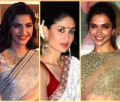 Bollywood Divas in Sarees