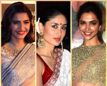 Bollywood Divas in Sarees
