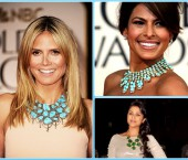 Bubble Necklace Trend among celebrities