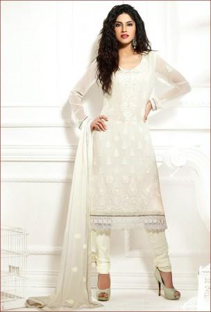 Angelic Off White Salwar Kameez