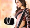 Elegant Saree With a Designer Bag available at Vivaahfashions.com