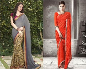 Beautiful Printed Sarees