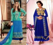 Gorgeous Blue Salwar Kameez