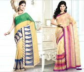Beautiful Chanderi Cotton Silk Embroidered Sarees