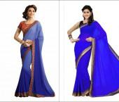 Gorgeous Blue Sarees