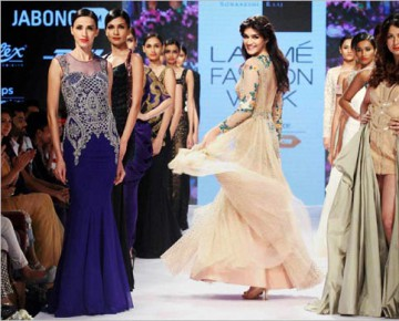 Collection at Lakme Fashion Week Winter-Festive 2015