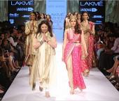 Ritu Kumar's Ethnic Wear Collection at LFW 2015