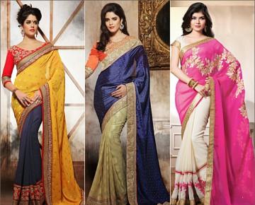 Elegant Dussehra Sarees
