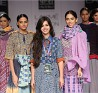 Karishma Shahani Khan with her Collection