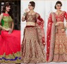 Red Lehenga Cholis