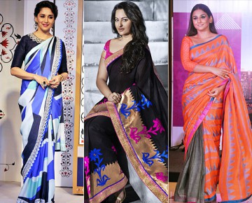 Looking Slimmer in Sarees