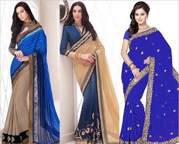Classy Blue Sarees