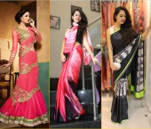 Clutches with Saree