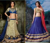 Crop Top Blouses with Lehenga
