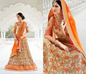 Different Lehenga Dupatta Styles