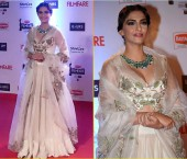 Sonam Kapoor in 61st Filmfare Awards
