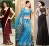 Designer Gowns and Sarees of 2017