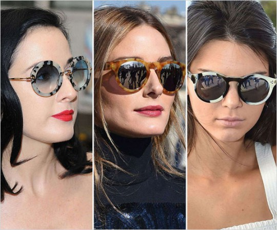 Sunglasses in Vogue