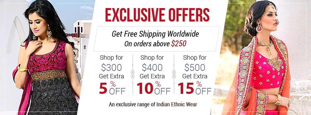 Get Free Shipping Worldwide On Order Above $250