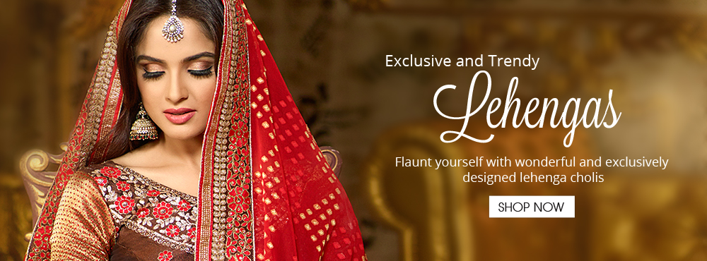 Exclusive & Trendy Lehengas
