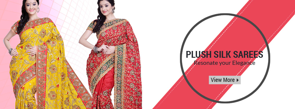 Plush Silk Sarees Resonate Your Elegance