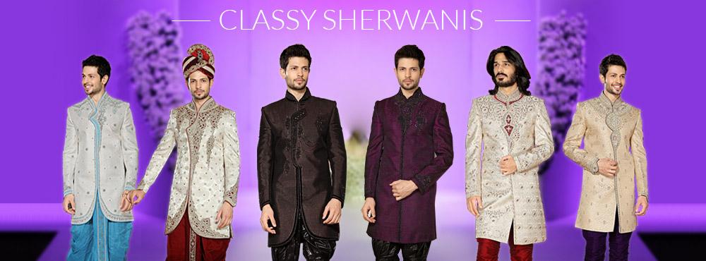 Classy Sherwanis
