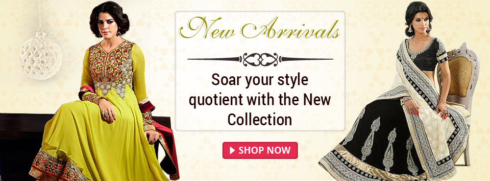 New Arrivals-Soar Your style quotient with the New Collection