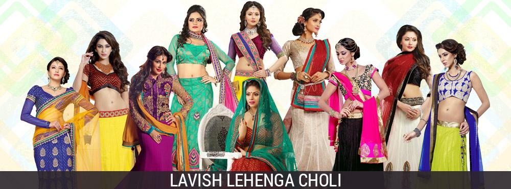 Lavish Lehenga Choli